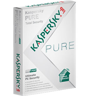 Kaspersky Pure 2.0 Total Security for your PCs Released