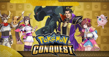 Pokemon Conquest Launching On June 18th For Nintendo DS