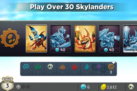 Skylanders Cloud Patrol now available on App Store for iPhone, iPad and iPod touch