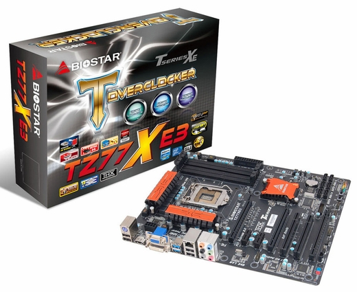 Biostar Launches New TZ77XE3 Ver. 5.x motherboard for Gaming PCs