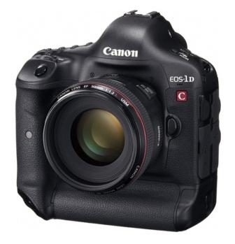 Canon Announces EOS-1D C Digital SLR Camera Featuring 4K High-Resolution Video Capture