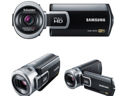 Samsung Launches First Wi-Fi Capable SMART Camcorder – Samsung QF20