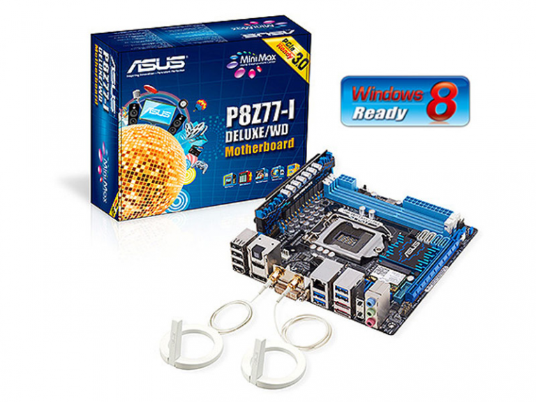 Asus P8Z77-I Deluxe / WD Z77 motherboard with WiDi technology