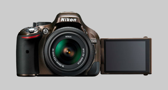 Nikon Announces the D5200: DX-format CMOS sensor with an effective pixel count of 24.1-million and an EXPEED 3 engine