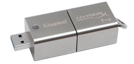 Kingston Unveils DataTraveler HyperX Predator 1TB USB 3.0 Flash Drive