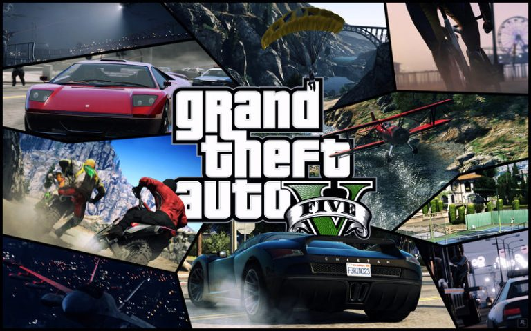 GTA 5 Official Game Cover Revealed