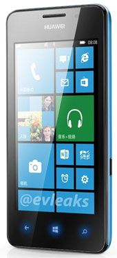 Huawei Ascend W2 Windows Phone Leaked Images