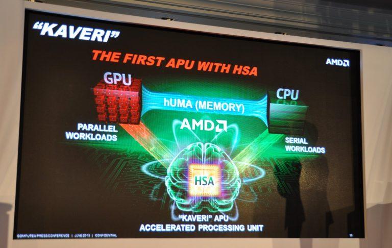 AMD Kaveri APU 4th Generation announced at Computex 2013