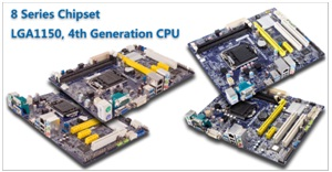 Foxconn has unvelied H87 and B85 Series LGA1150 Motherboard