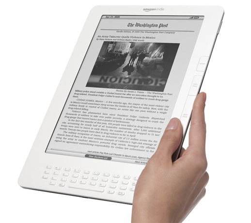 Amazon's New Kindle DX Wireless Review