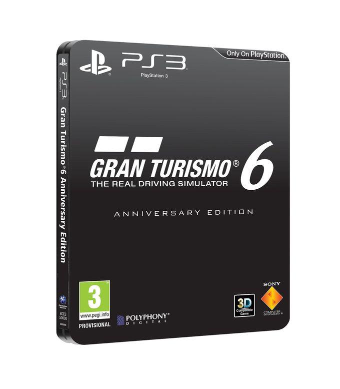 Gran Turismo 6 Anniversary Edition announced for PS3