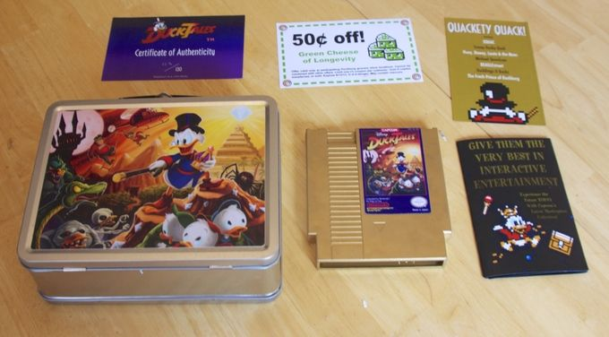 Capcom makes new copies of DuckTales for the NES