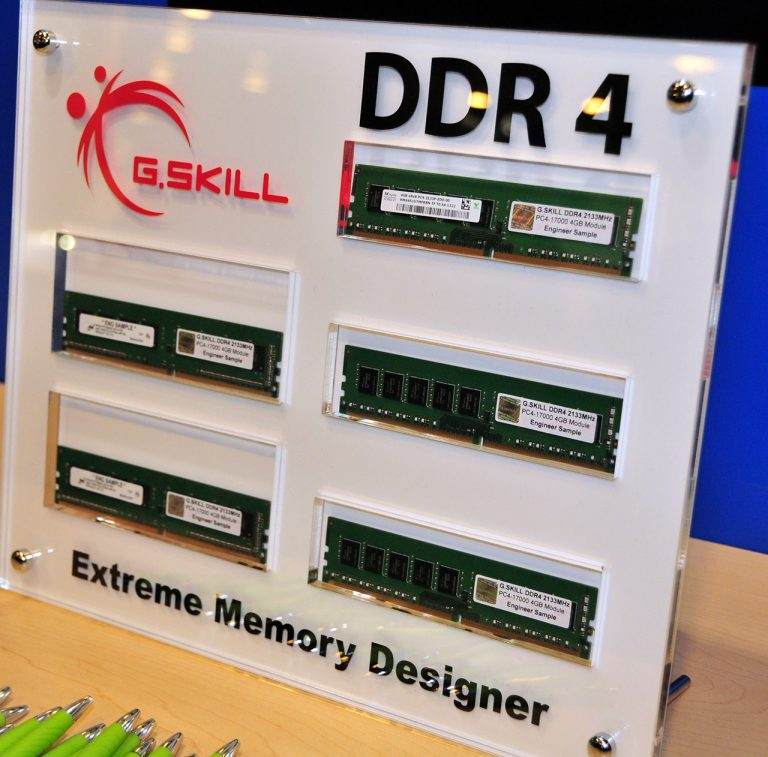 IDF 2013: DDR4 RAM going to launch this year