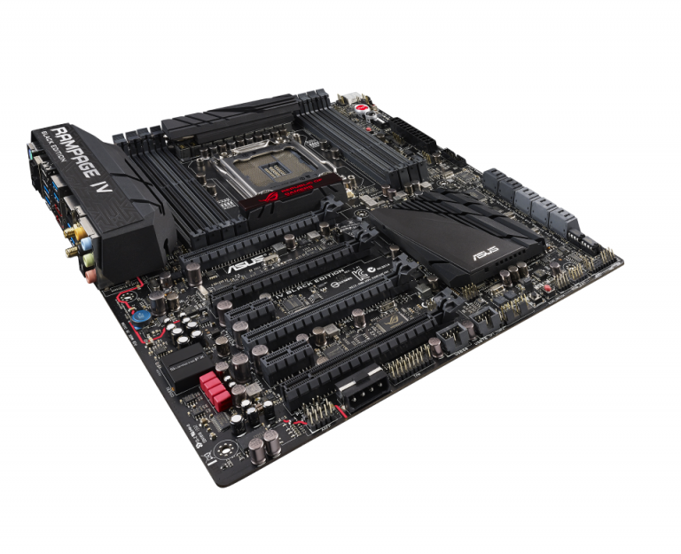 ASUS ROG Rampage IV Black Edition Motherboard launched in India
