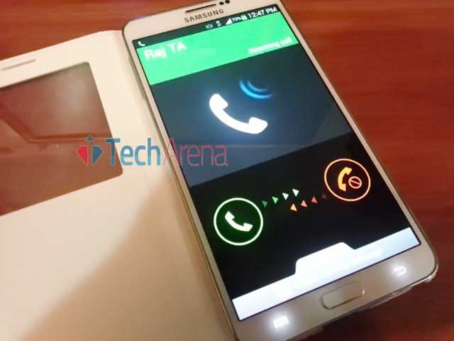 How to Mute Ringing phone without unlocking Samsung Galay Note 3