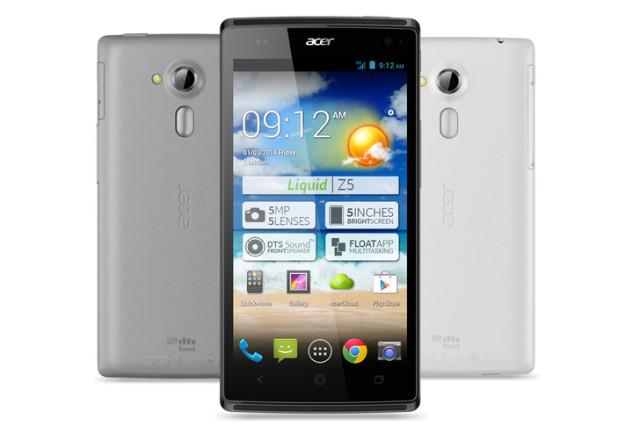 Acer Liquid Z5 Android Smartphone launced