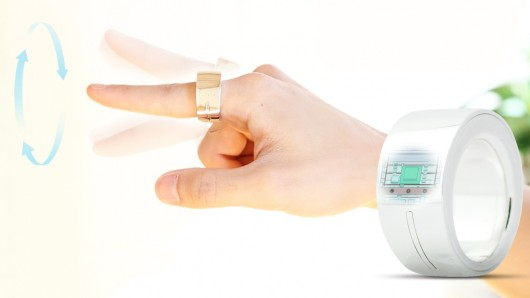 Kickstarter project: New gesture controlled Ring