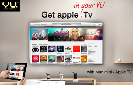Vu Luxury Televisions introduces Vu SuperMac the largest Apple based TV