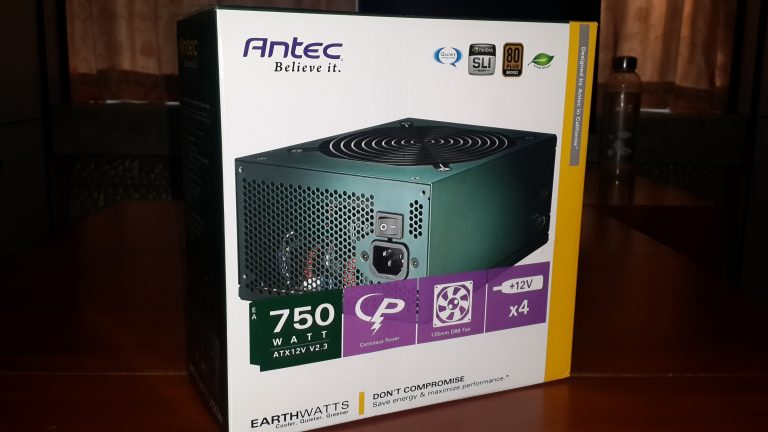 Antec EA-750 Green 750W Power Supply Review