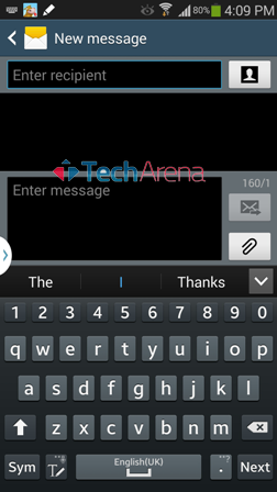 How to change the Keyboard Layout on Samsung Galaxy Note 3