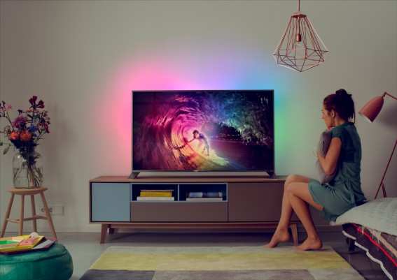 Philips announced 8000 series Android-powered 4K TVs