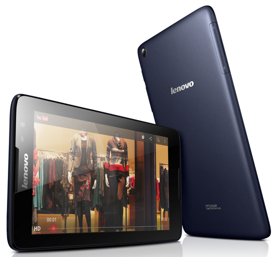 Lenovo A10-70, A8-50, A7-50 and A7-30 tablets announced