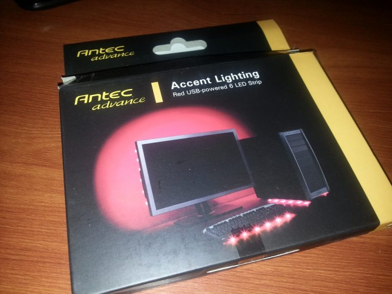 Antec Advance Accent Lighting (RED)