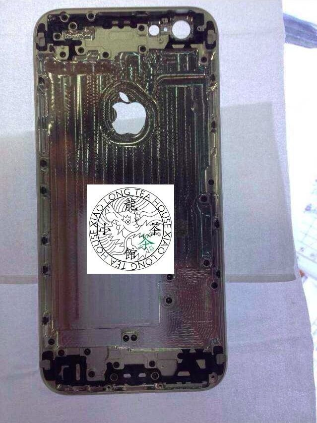 iPhone 6's metal frame leaked out