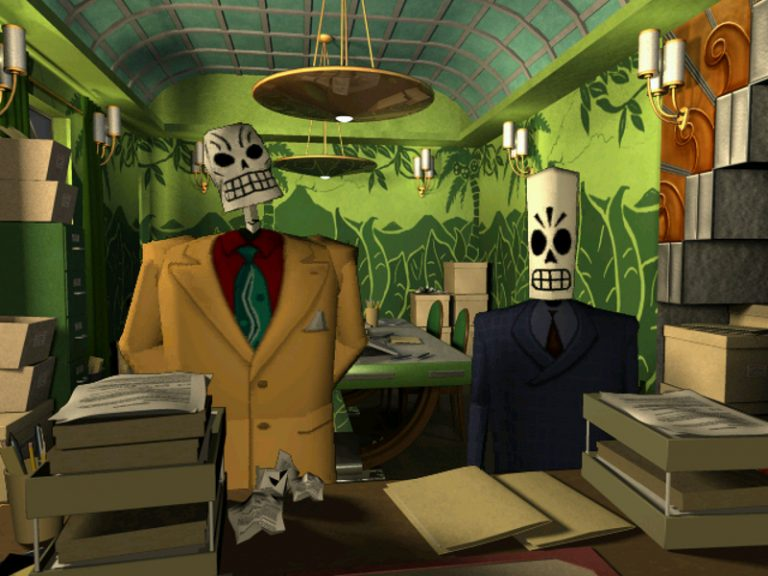 Grim Fandango is back on PS4 and PS Vita