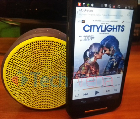 Logitech Mini Bluetooth Speaker X100 Text Review