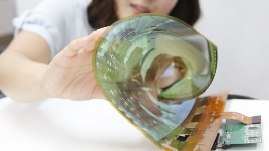 LG unveils 18-inch flexible and transparent OLED panels and aims for 60 inches by 201