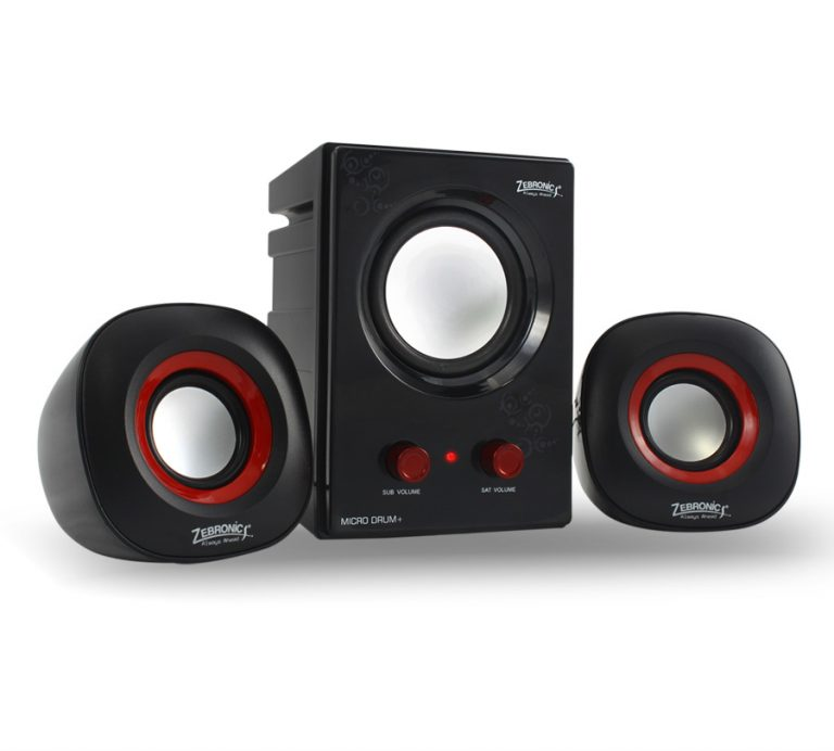 Zebronics launches MicroDrum+ 2.1 multimedia speaker set