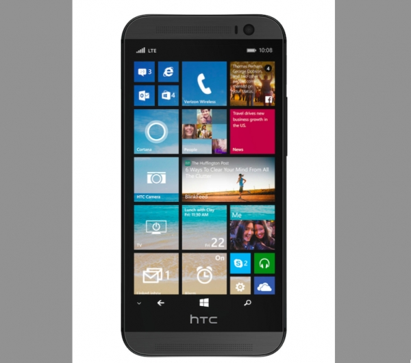 HTC One M8 with Windows Phone 8.1 leaked out