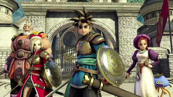 Dragon Quest: Heroes Announced for PS4 and PS3 with a Trailer