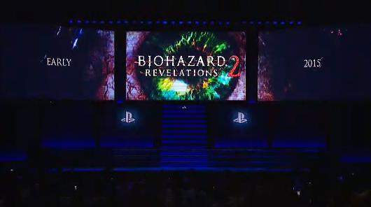 Resident Evil: Revelations 2 unveiled by Capcom