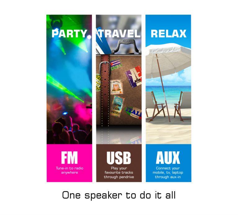 Zebronics Bliss Portable Tower Speaker announced