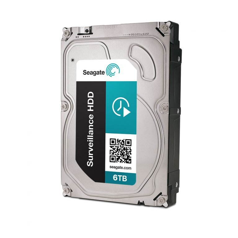 Seagate Surveillance HDD with Rescue Services and 6TB High-Capacity Storage introduced