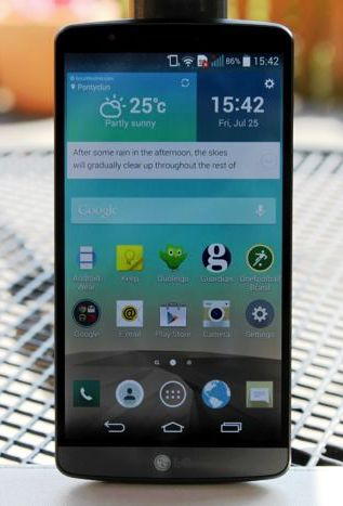 LG G3 Software Update release with improved UI responsiveness