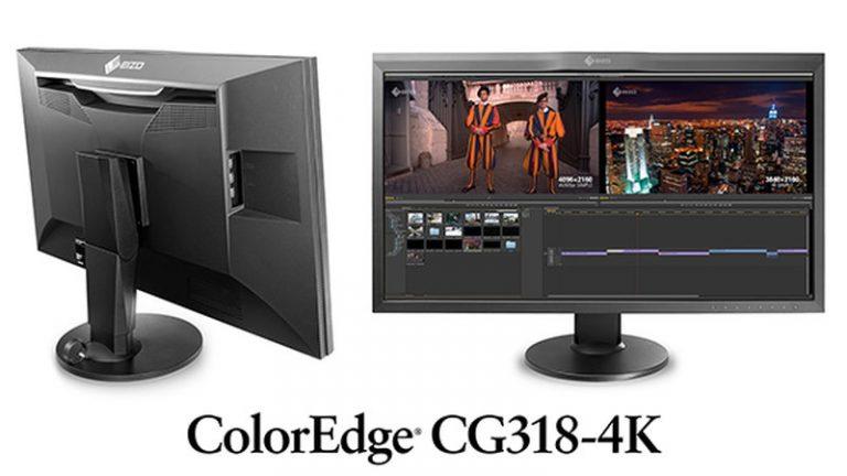 EIZO ColorEdge CG318-4K Monitor announced