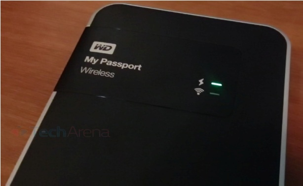 How to identify the amount of battery left in WD My Passport Wireless 1TB