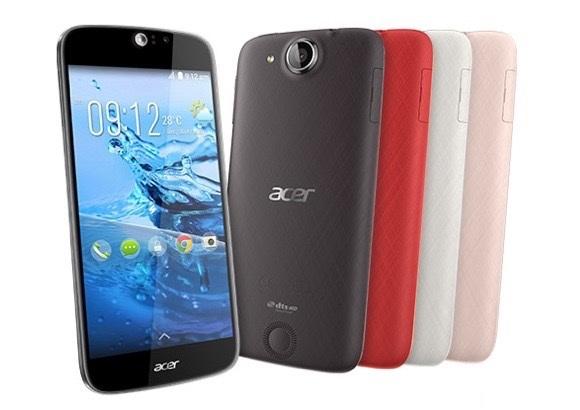 Acer Liquid Jade S smartphone with 64-bit MediaTek SoC launched