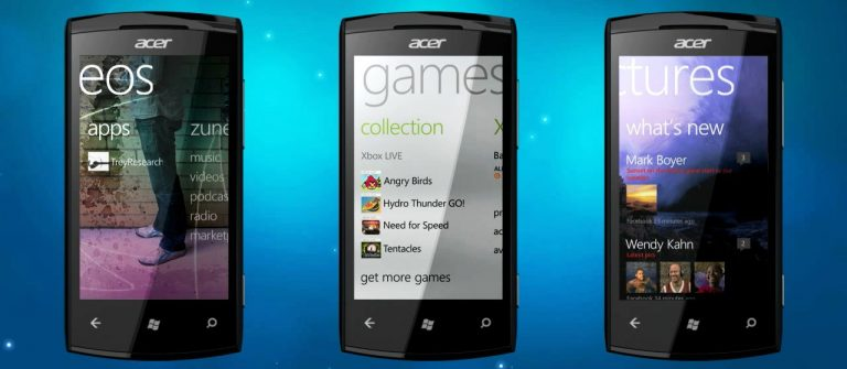 Acer is planning to launch a range of Windows Phones in 2015