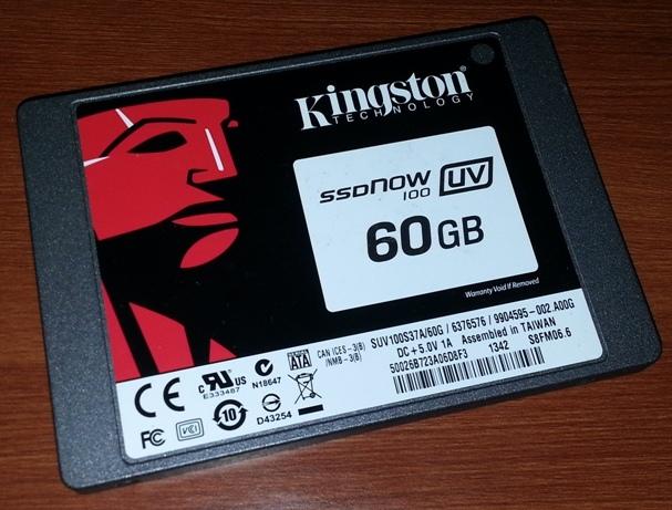 Kingston SSDNow UV 100 60GB SSD Review