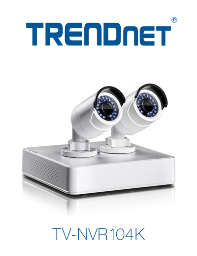 TRENDnet 4-Channel HD POE NVR KIT launched