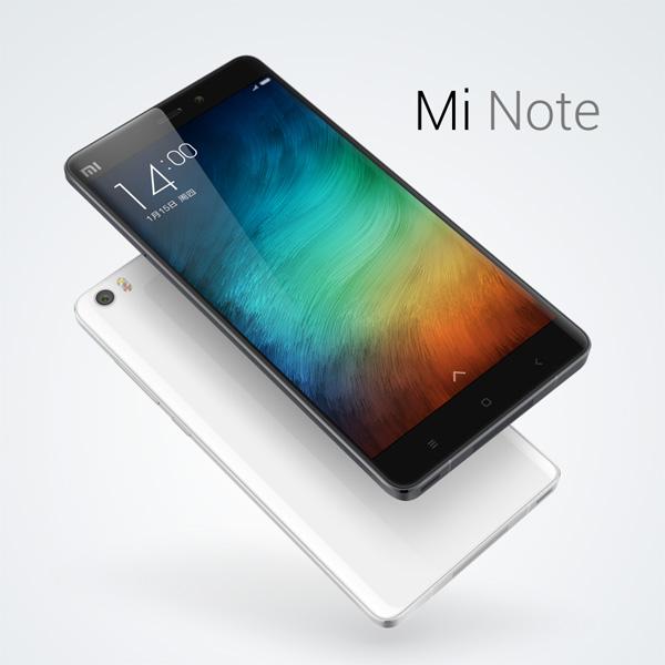 Xiaomi announces Mi Note and Mi Note Pro smartphone