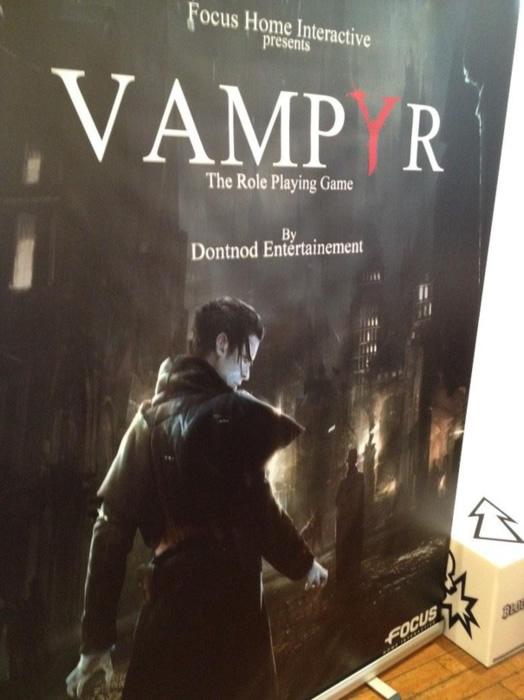 Vampyr RPG game announced by Dontnod