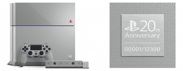 First 20th Anniversary Edition PS4 started receiving bids