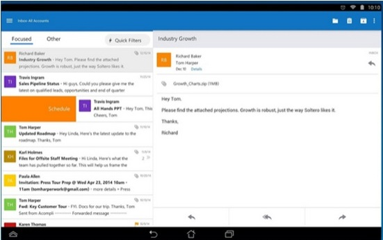 Microsoft Outlook Preview finally available for free on Android