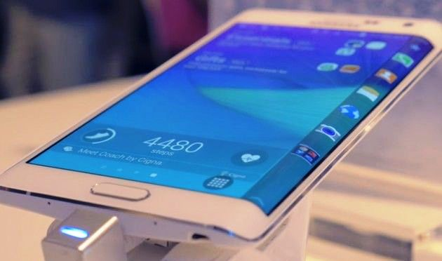 Samsung Galaxy S6 Edge patent pictures surfaces