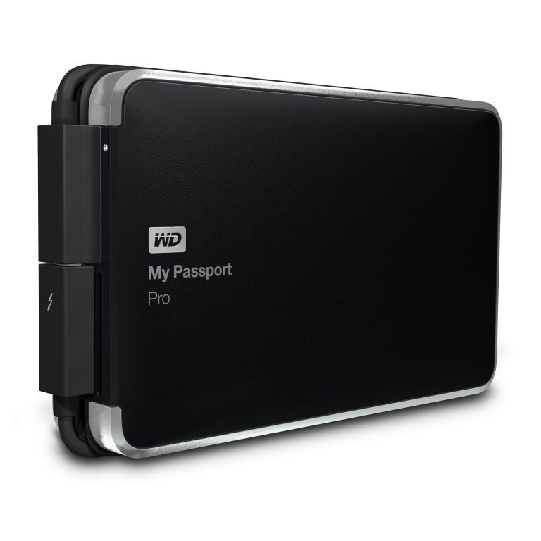 WD announces My Passport Pro portable Thunderbolt-powered dual-drive